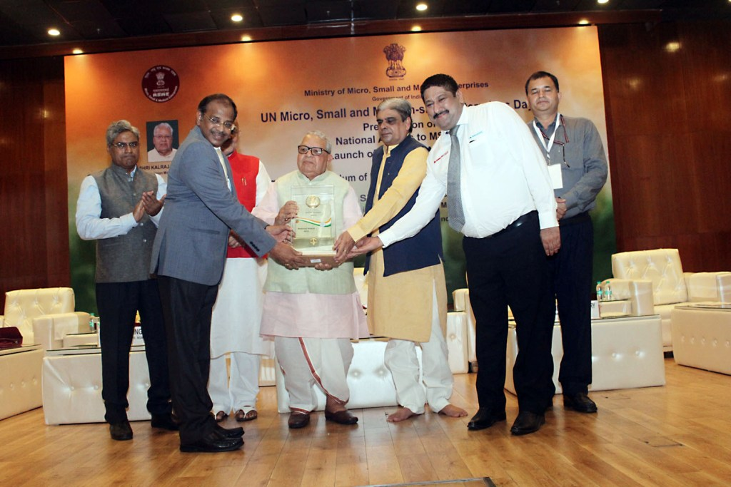 ational Award for MANATEC from Ministry of MSME, Govt of INDIA