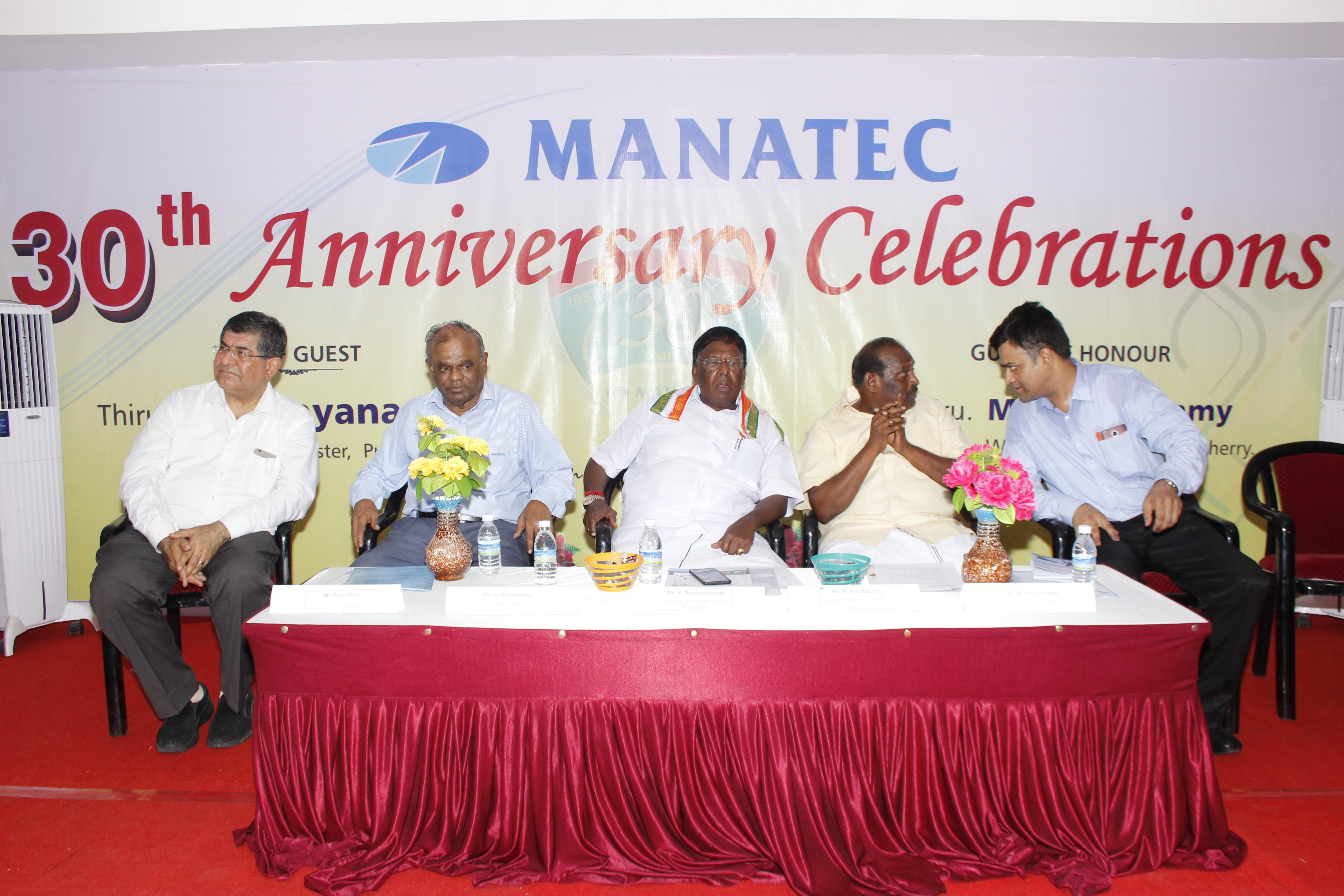 Manatec 30 years celebration